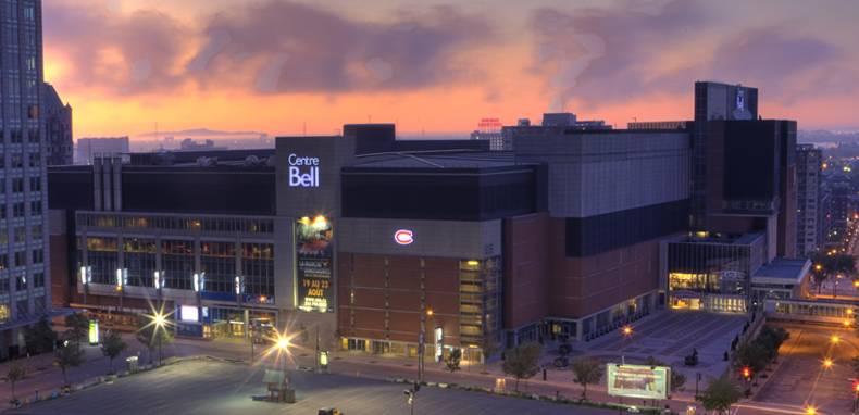 Le centre Bell de Montréal